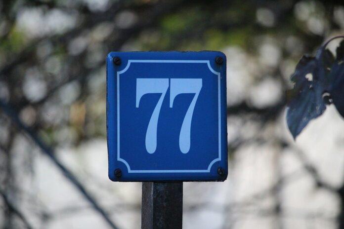 Hausnummern Schild